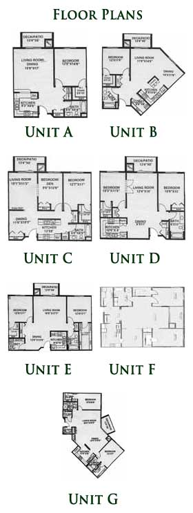 Morehouse Place Floor Plans